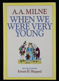 Front cover of When We Were Very Young by A.A. Milne