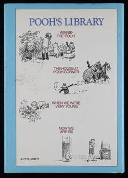 Back  cover of Now We are Six by A.A. Milne
