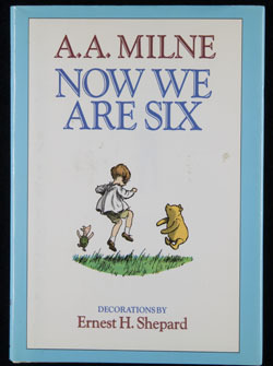 Front cover of Now We are Six by A.A. Milne