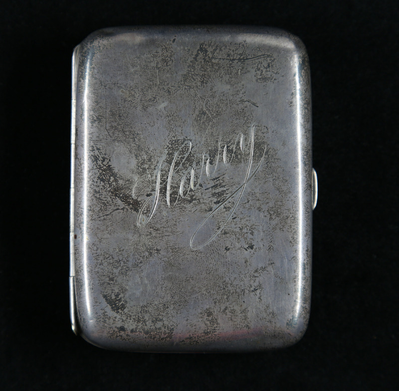 Harry Colebourn's Cigarette Case - Front