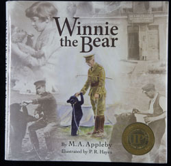 Front cover of Winnie the Bear by M.A. Appleby