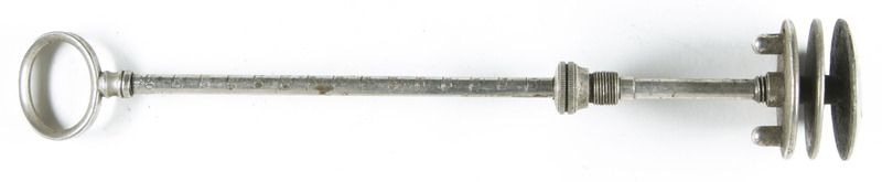 Part of an injection syringe