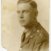 Portrait of Harry Colebourn in uniform