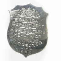 Department of Agriculture Inspector's Badge