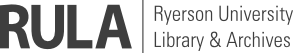 Ryerson Univeristy Library and Archives Logo